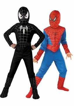 Spiderman Costume Superhero Cosplay Fancy Dress Halloween Pa