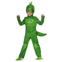 Toddler PJ Masks Classic Gekko Costume size Large 4-6