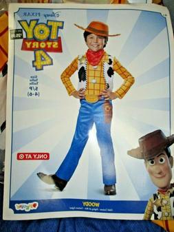 Disney Toy Story 4 Sheriff Woody Boys Child Halloween Costum