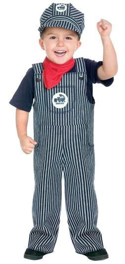 Train Conductor Engineer Toddler Child Costume