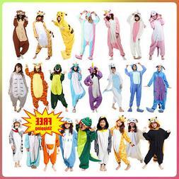 Unisex Adult Kids Kigurumi Pajamas Onesie1 Cosplay Costume A