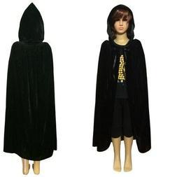 US Unisex Halloween Fancy Dress Costume Child Kids Hooded Ve