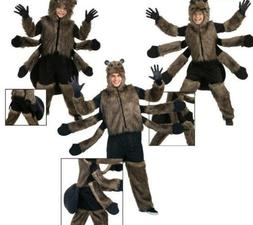 Unisex Womens/Mens/Child Fur Spider Cosplay Halloween Clothe