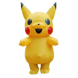 US Seller CHILD Pikachu Inflatable Costume CHILD
