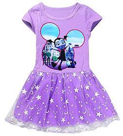 AOVCLKID Vampirina Costume Little Girls Dress up Toddler Bab