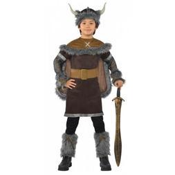 Viking Costume Kids Halloween Fancy Dress