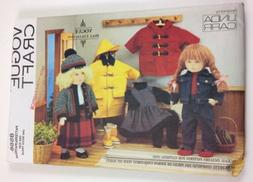 "Vogue 8556 Fits 18"" American Dolls Clothes Sewing Pattern Un"