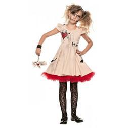 Voodoo Doll Costume Kids Halloween Fancy Dress