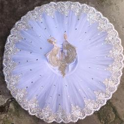 white professional ballerina ballet tutu for child children