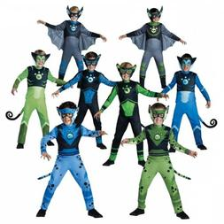 Wild Kratts Creature Power Suit Costume Kids Halloween Fancy