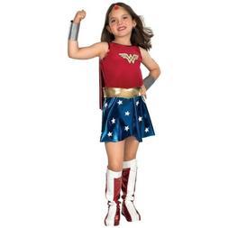 Wonder Woman Costume Kids Halloween Fancy Dress