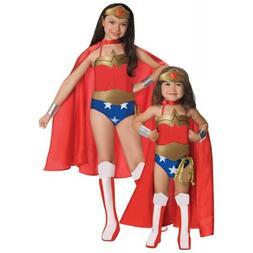 Wonder Woman Costume Kids Toddler Girls Superhero Halloween