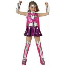 Wonder Woman Costume Kids Toddler Superhero Halloween Fancy