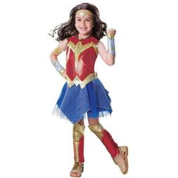 Wonder Woman Movie Child's size S 4/6 Deluxe Costume Outfit