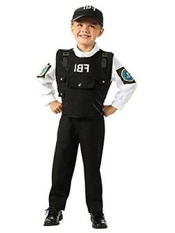Young Heroes FBI Agent Costume, Medium
