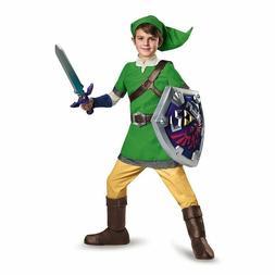 Zelda Link Deluxe Child Halloween Costume