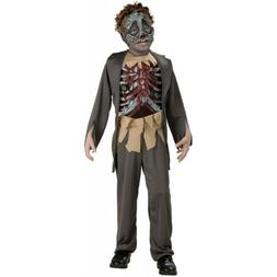 Zombie Costume Kids Corpse Halloween Fancy Dress